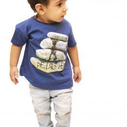 Camiseta Pai e Filho Pedra
